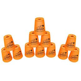 Neon Narancssárga Sportpoharak, 2. Széria - 12 db-os