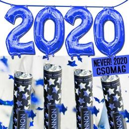 NEVER! 2020 Szilveszteri Csomag - Kék