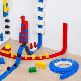Öntapadós Lego Szalag - Piros