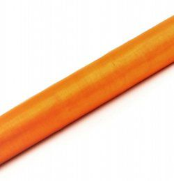 Narancssárga Organza Tekercs (36 cm x 9 m)