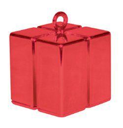 Piros Ajándékdoboz Léggömbnehezék