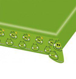 Angry Birds - Zöld Malac Parti Asztalterítő - 1,8 m x 1,2 m