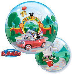 22 inch-es Disney Bubbles Mickey Park Mikiegér Héliumos Lufi