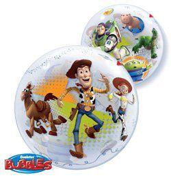 22 inch-es Disney Bubbles Toy Story Héliumos Lufi