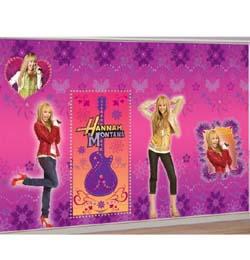 Hannah Montana Szoba- és Faldíszlet Szett - 360 cm x 120 cm, 2 db-os