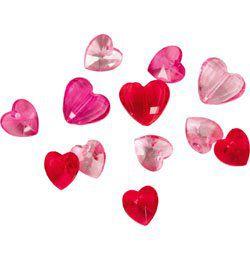 Szives Szerelmes Műanyag Konfetti