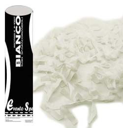60 cm-es, Fehér Színű Papír Szerpentineket Kilövő Konfetti Ágyú