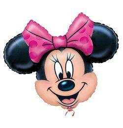 Minnie Mouse Mini Shape Fólia Lufi Pálcán
