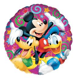 18 inch-es Mickey - Disney Celebration - Héliumos Fólia Lufi