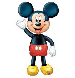 Mickey Mouse Sétáló Héliumos Fólia Lufi