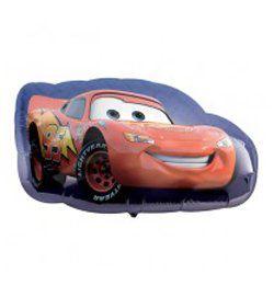 Verdák, Cars - Lightening McQueen - Mini Shape Fólia Lufi Pálcán