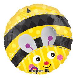 18 inch-es Méhecske - Cute Bumble Bee Héliumos Fólia Lufi