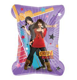 Camp Rock Michie és Shane Super Shape Héliumos Fólia Lufi