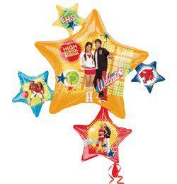 High School Musical Party és Lufi