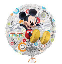 18 inch-es Mikiegeres - Mickeys Clubhouse - Áttetsző Héliumos Fólia Lufi