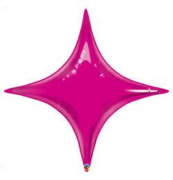 20 inch-es Magenta Rózsaszín - Starpoint Magenta Fólia Lufi