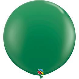 3 feet-es Green (Standard) Kerek Latex Lufi (2 db/csomag)