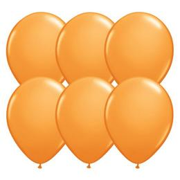 Narancssárga Lufi - 28 cm, 25 db