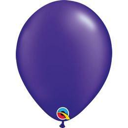 11 inch-es Pearl Quartz Purple Kerek Lufi (100 db/csomag)