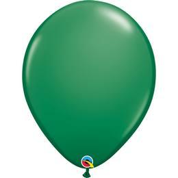 16 inch-es Green (Standard) Kerek Lufi (10 db/csomag)