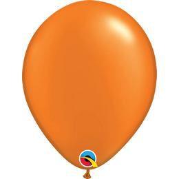 11 inch-es Pearl Mandarin Orange Kerek Lufi (100 db/csomag)