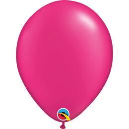 Magenta Rózsaszín Lufi - Gyöngyház, 28 cm, 100 db