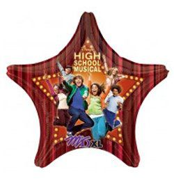 High School Musical Marquee Héliumos Fólia Léggömb, Super Shape