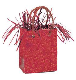 Piros Mini Ajándéktasak Léggömbsúly
