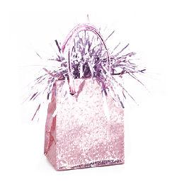 Pasztell Rózsaszín Prismatic Mini Ajándéktasak Léggömbsúly - 160 gramm