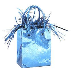 Kék Prismatic Mini Ajándéktasak Léggömbsúly - 160 gramm