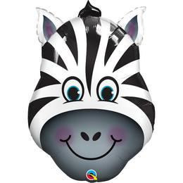 Zebra Fej Héliumos Fólia Lufi, 81 cm