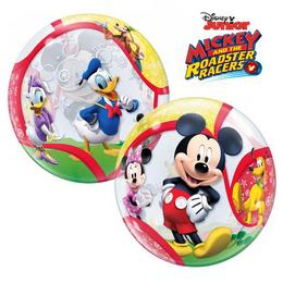 22 inch-es Disney Bubbles Mickey and His Friends Héliumos Lufi