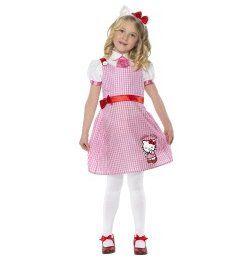 Hello Kitty Farsangi Jelmez Kislányoknak, 3-4 Éveseknek
