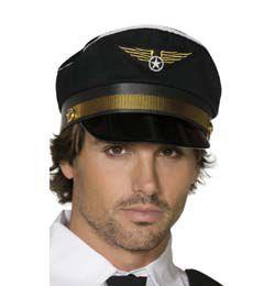 Fekete Arany Pilóta Sapka