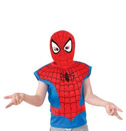 Pókember - Spiderman Farsangi Jelmez Szett - 3-6 éveseknek, S-es