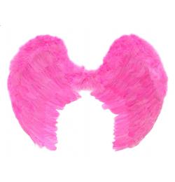 Rózsaszín Toll Angyalszárny - 50 x 80 cm