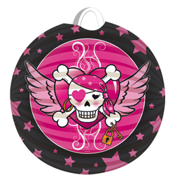 Kal�zl�ny - Pirate Girl - Parti G�mb Lampion - 22 cm