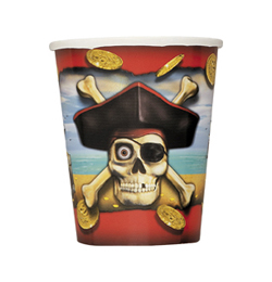 Pirate Bounty - Kalóz Parti Pohár - 270 ml, 8 db-os