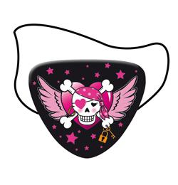 Kalózlány - Pirate Girl - Parti Kalóz Szemfedő - 8 db-os
