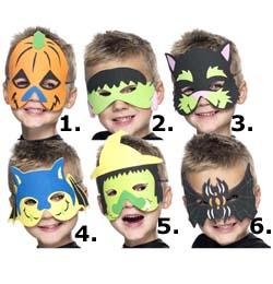 Halloween Szemálarc Gyerekeknek