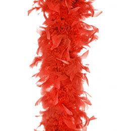 Toll Boa, 180 cm - Piros