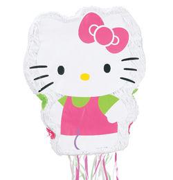 Hello Kitty Fehér Parti Pinata