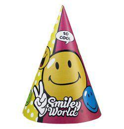 Smiley Comic Mókás Parti Kalap - 6 db-os