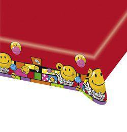 Smiley Comic Mókás Parti Asztalterítő - 120 cm x 180 cm