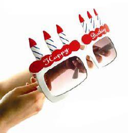Happy Birthday Szülinapi Óriás Parti Napszemüveg