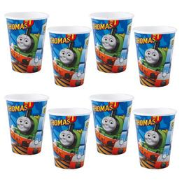 Thomas és Barátai - Thomas and Friends - Parti Pohár - 250 ml, 8 db-os