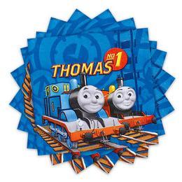 Thomas és Barátai - Thomas and Friends - Parti Szalvéta - 33 cm x 33 cm, 20 db-os