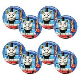 Thomas és Barátai - Thomas and Friends - Parti Tányér - 23 cm, 8 db-os