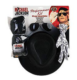 Michael Jackson - Jacko - Felnőtt Farsangi Jelmezkellék Szett