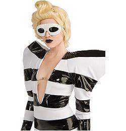 Lady Gaga Parti Szemüveg - Fehér